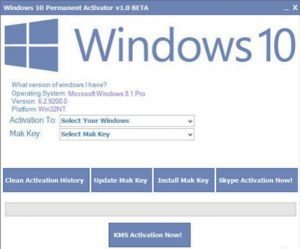 Windows 10 Activator - Windows and Office Activator
