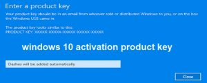 Windows 10 Product Key Generator 2018 Free